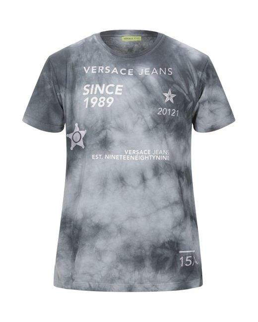 Versace Jeans Gray T-shirt for men