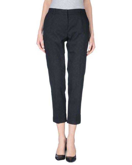 Peserico | Black Casual Trouser | Lyst