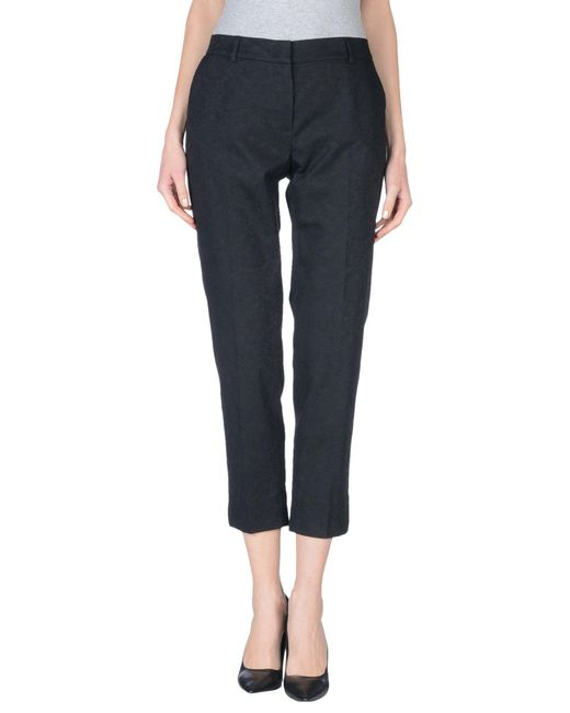 Peserico | Black Casual Trouser | Lyst