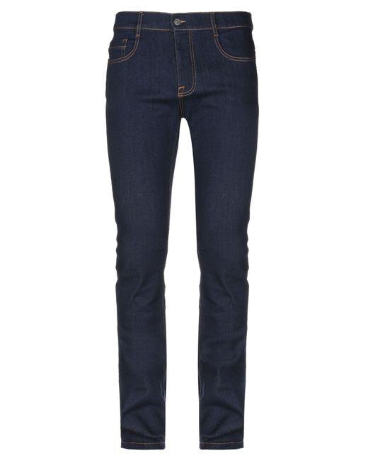 Pantalones vaqueros Bikkembergs de hombre de color Blue