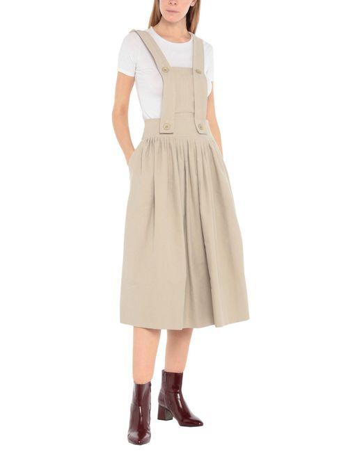 Chloé Peto de falda de mujer de color neutro