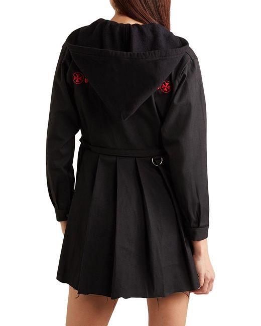 Vestito corto di Vetements in Black