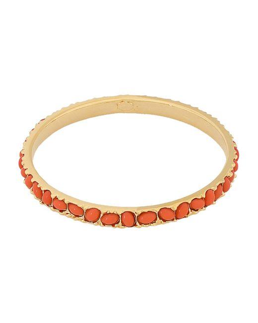 Kenneth Jay Lane Orange Bracelet