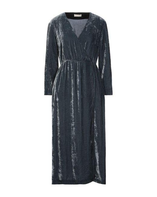 Momoní Blue 3/4 Length Dress