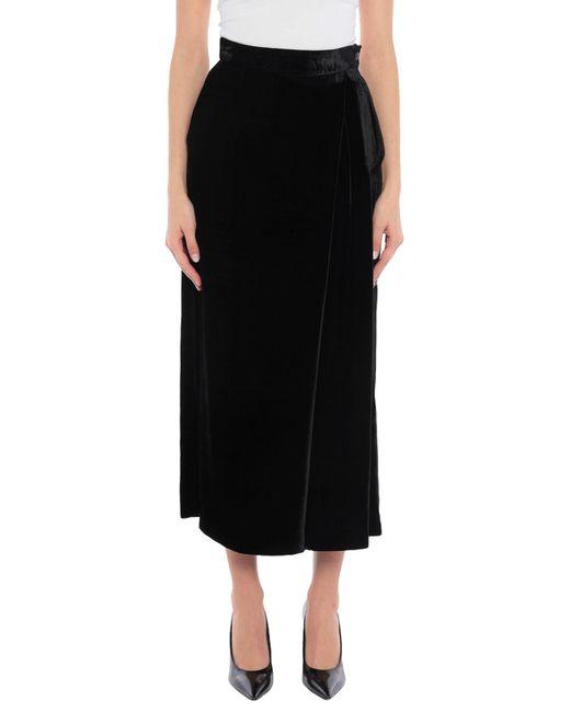 Falda a media pierna PT Torino de color Black
