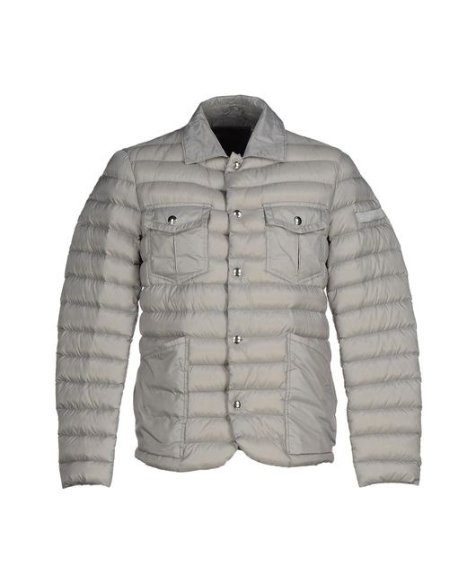 Peuterey - Gray Down Jackets for Men - Lyst