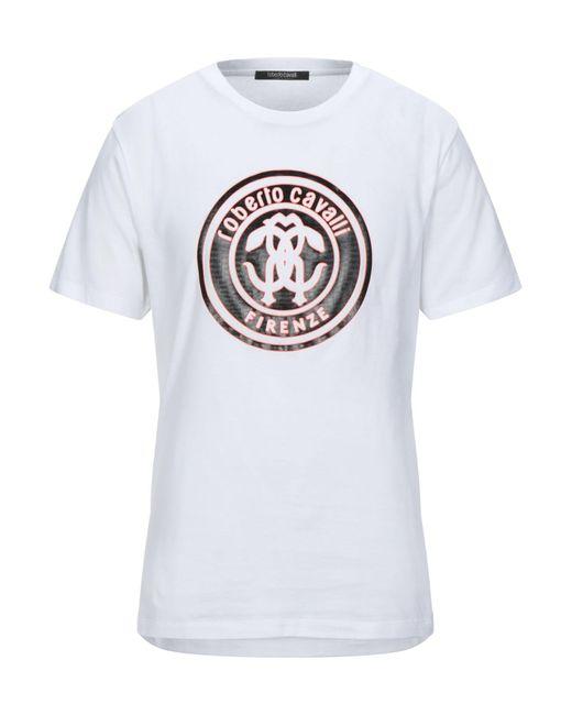 Roberto Cavalli White T-shirt for men