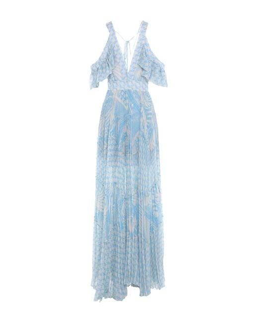 Vestito lungo di W Les Femmes By Babylon in Blue