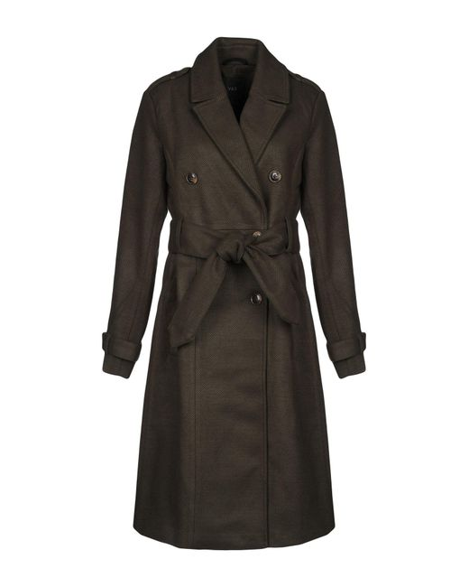 Y.A.S - Green Coat - Lyst