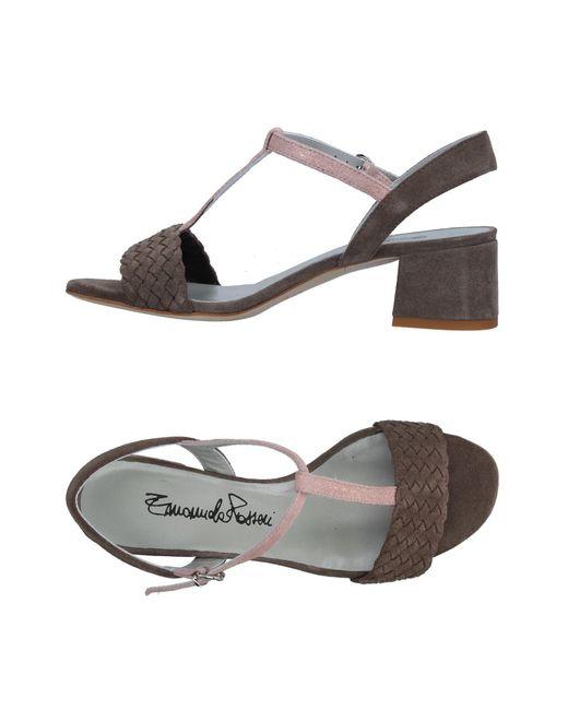 Emanuela Passeri - Multicolor Sandals - Lyst