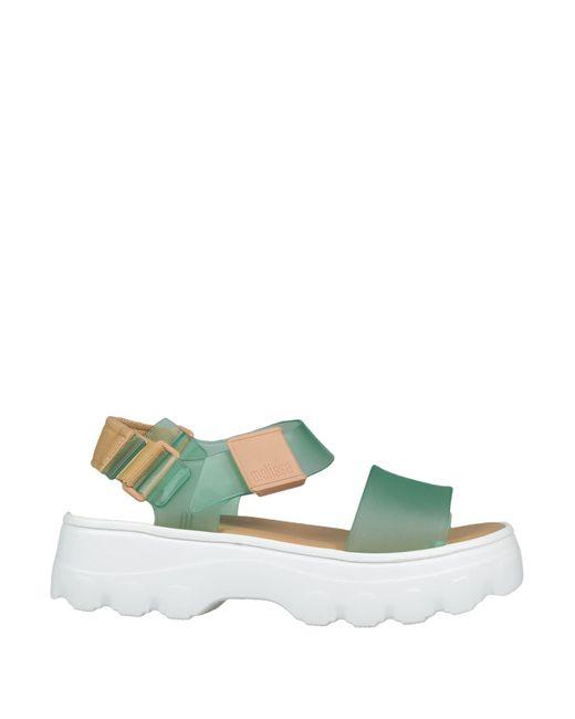 Melissa Green Sandals