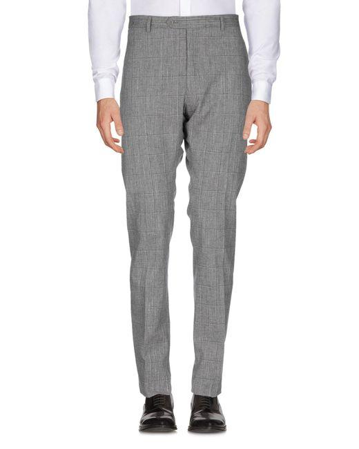 Pantalone di Tombolini in Gray da Uomo