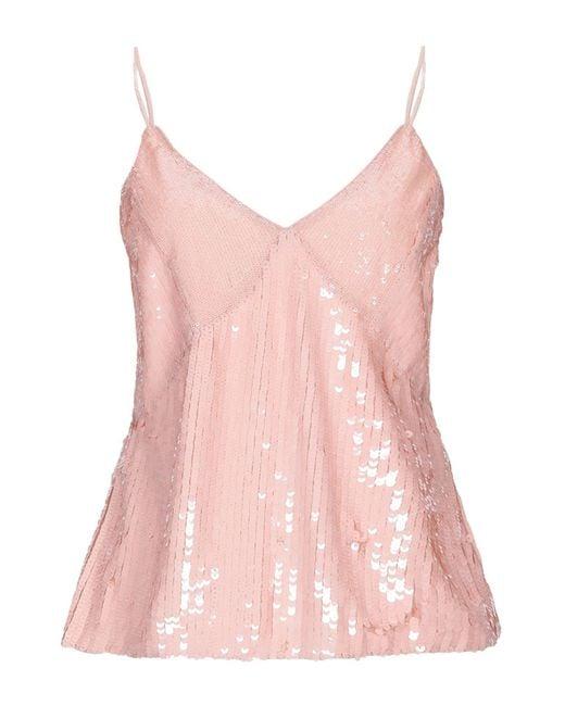 Pinko Top de mujer de color rosa IVAgn