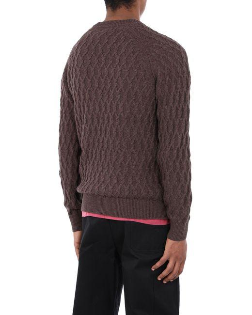 SELECTED Pullover in Brown für Herren