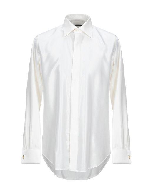Pal Zileri White Shirt for men