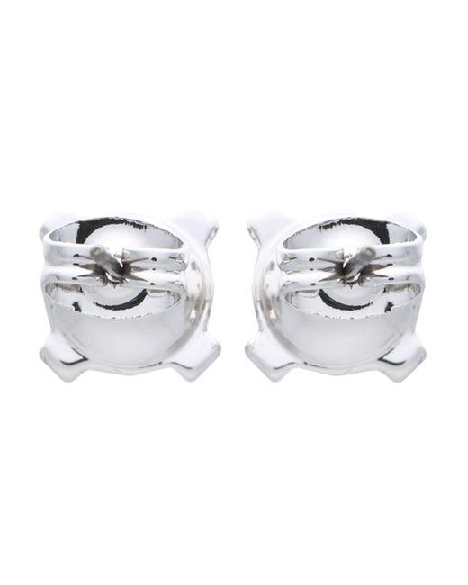 Karl Lagerfeld Metallic Earrings