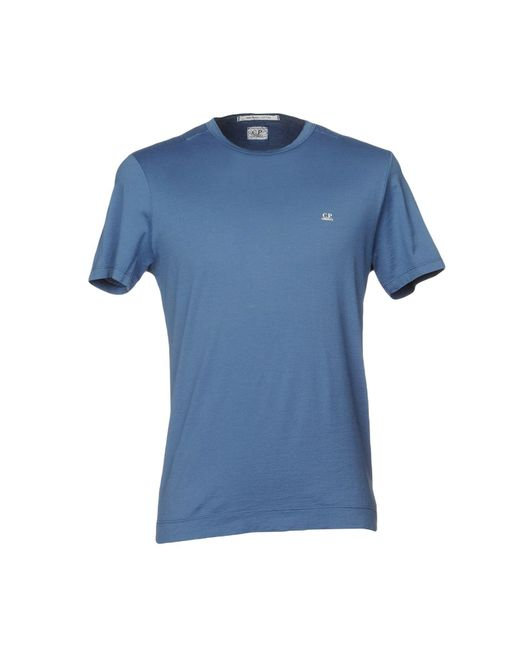C P Company - Blue T-shirts for Men - Lyst