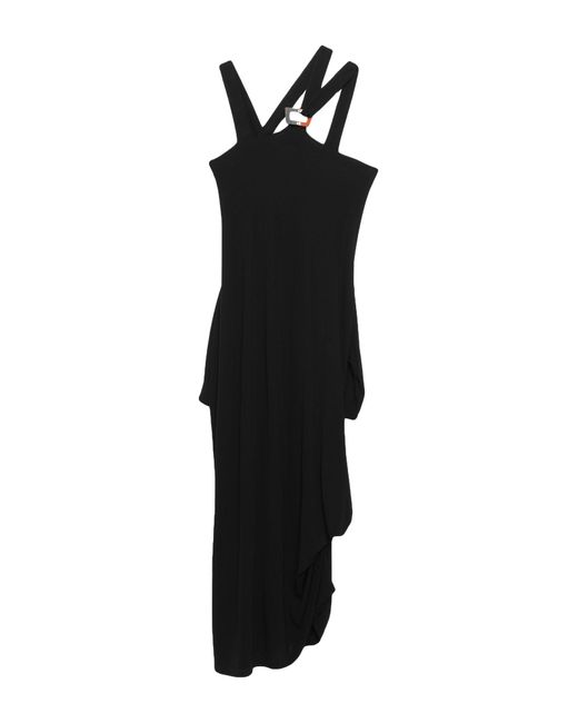 Malloni Black Long Dress