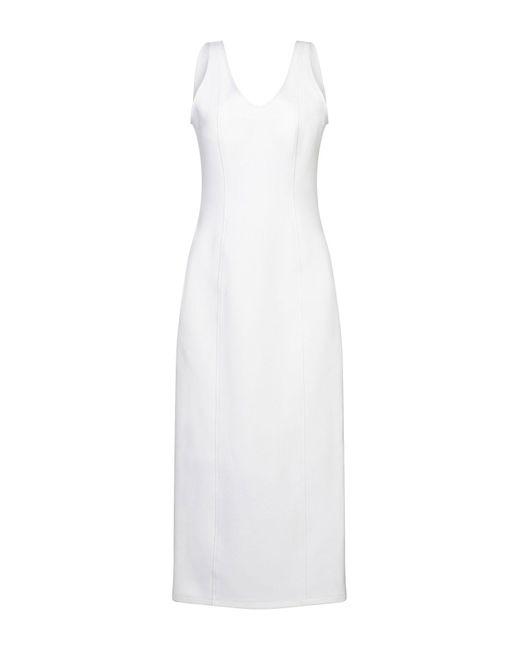 Robe longue Maison Margiela en coloris White