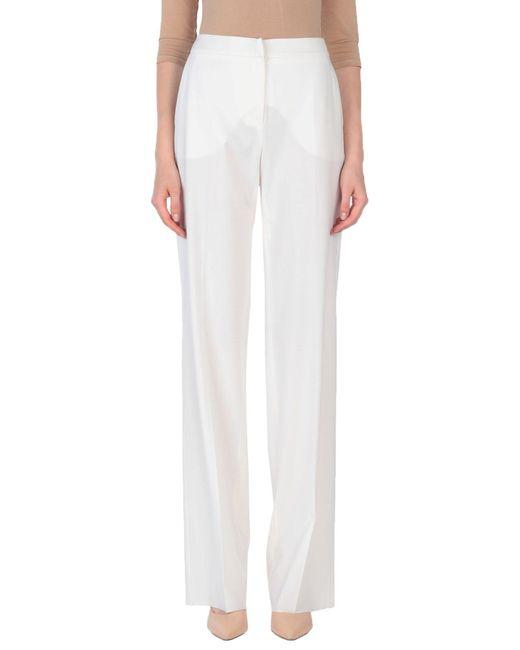 Pantalon Max Mara en coloris White