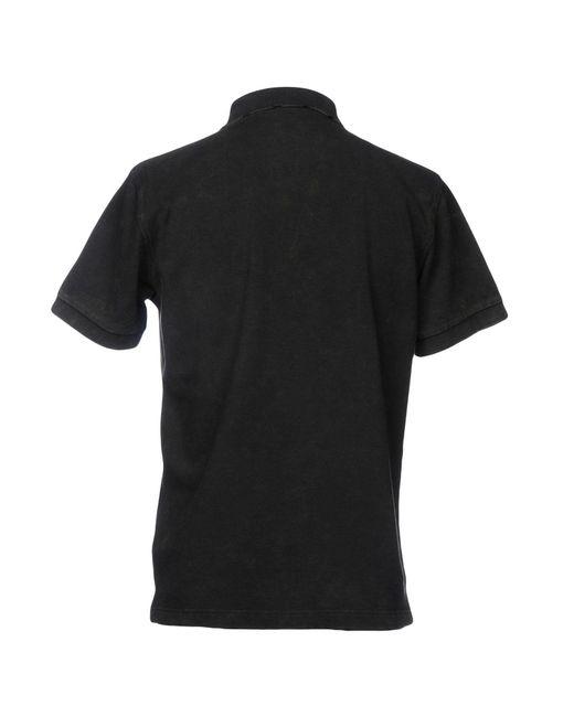 Polo di Sun 68 in Black da Uomo