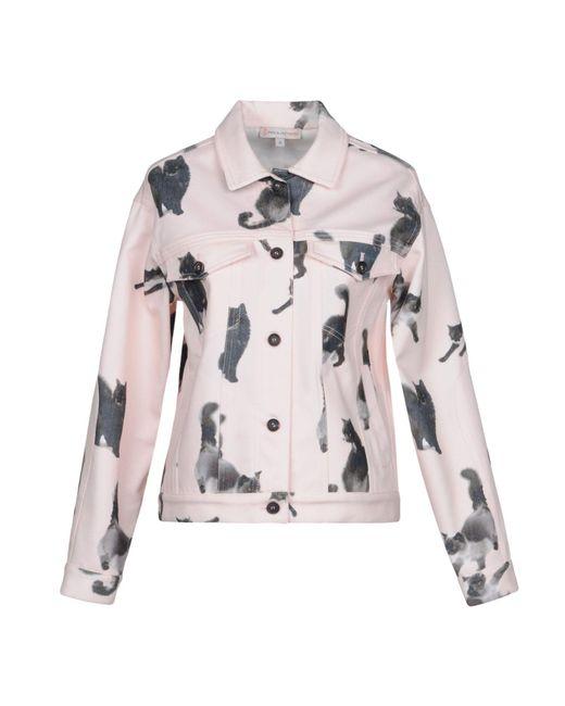 Paul & Joe - Pink Denim Outerwear - Lyst