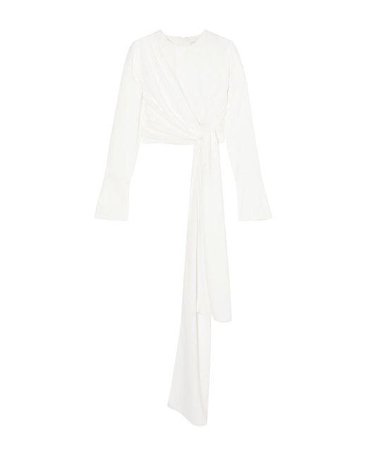16Arlington Blusa de mujer de color blanco xb8ns