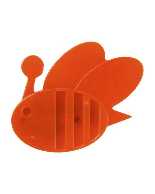 Jil Sander Navy | Orange Brooch | Lyst