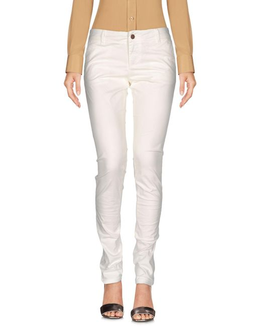 Sun 68 - White Casual Pants - Lyst