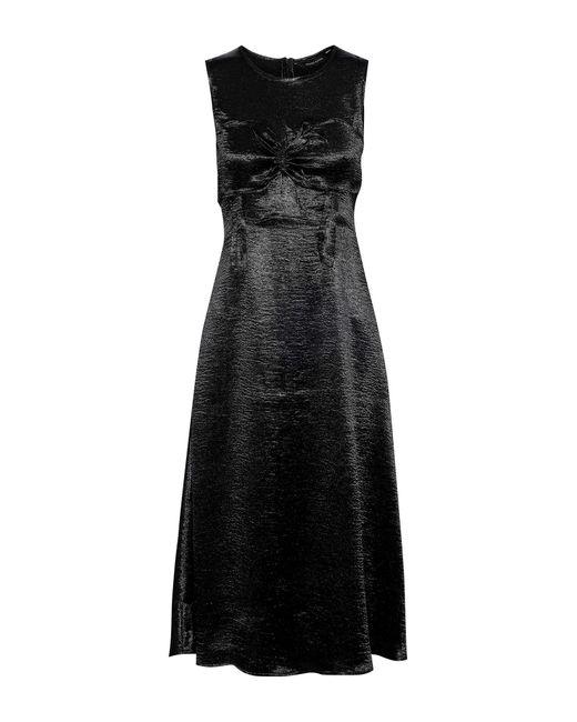 Walter Baker Black 3/4 Length Dress