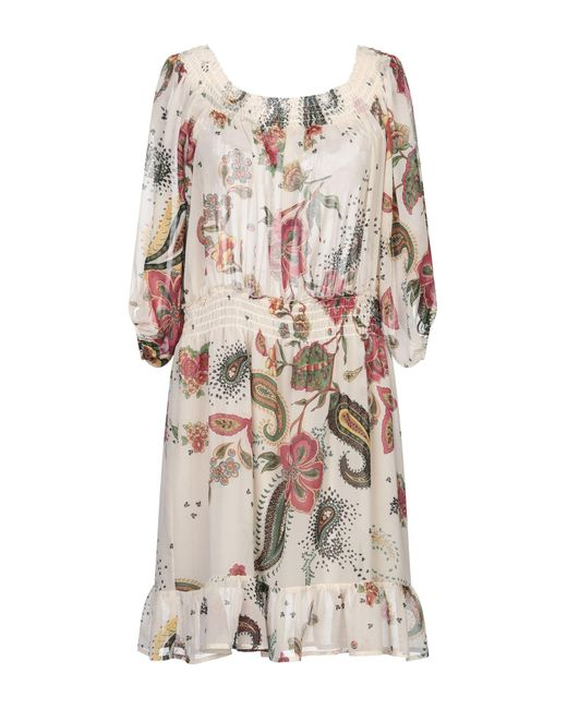 Robe courte Liu Jo en coloris Natural