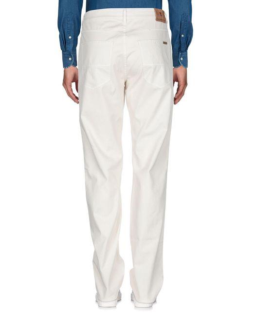 Pantalones Trussardi de hombre de color Multicolor