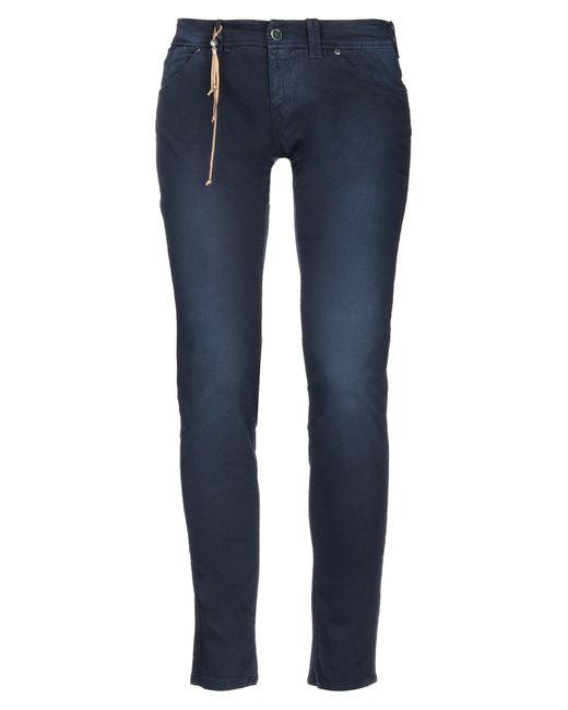 Jfour Blue Casual Trouser