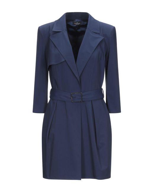 Elisabetta Franchi Blue Kurzes Kleid