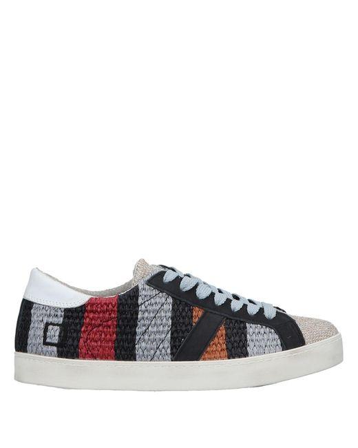 Date Black Low Sneakers & Tennisschuhe