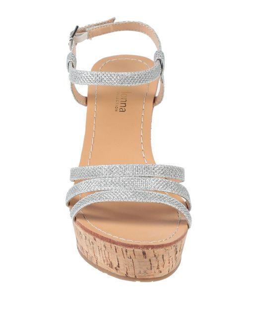 Sandales Primadonna en coloris Metallic