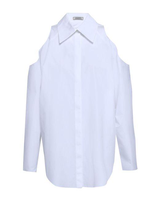 Nina Ricci Camisa de mujer de color blanco rc65Y
