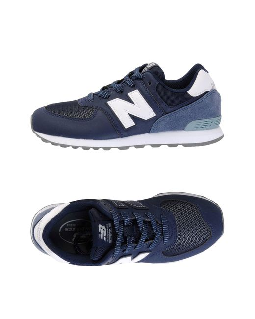 New Balance - Blue Low-tops & Sneakers - Lyst