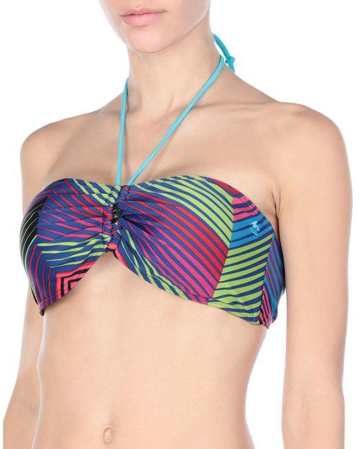 Billabong Blue Bikini Top