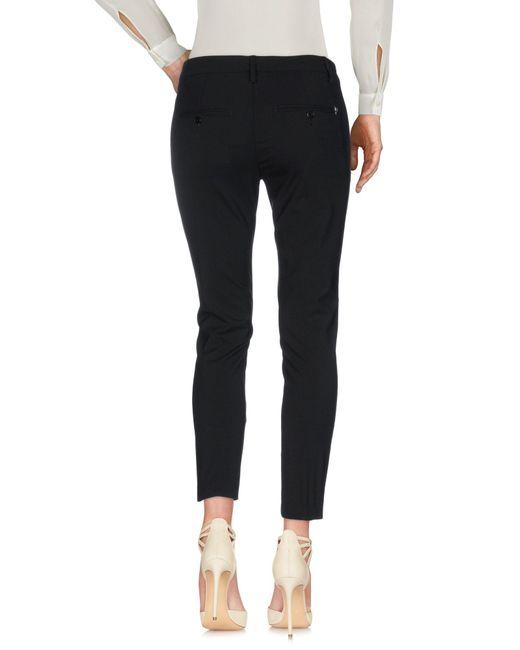 Dondup Pantalon femme de coloris noir
