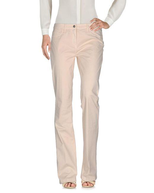 Manila Grace | Natural Casual Trouser | Lyst