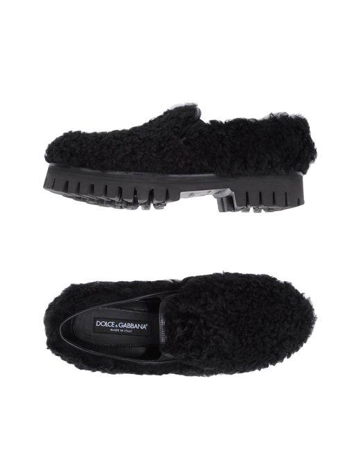 Dolce & Gabbana | Black Loafer for Men | Lyst