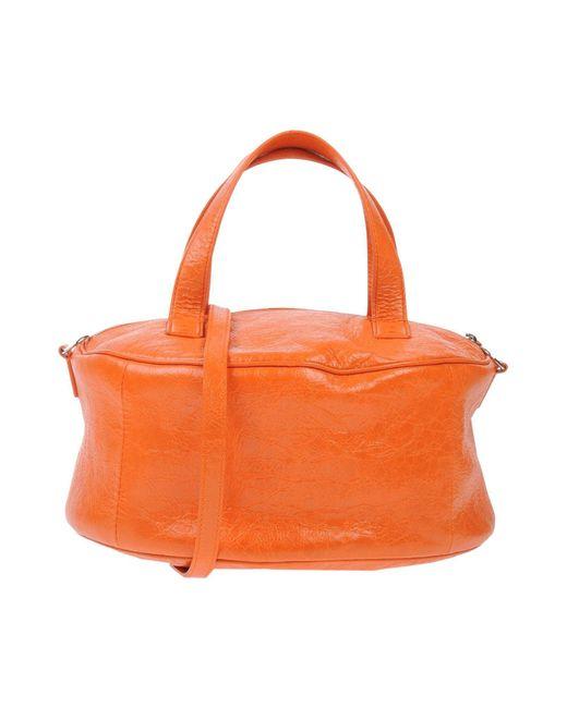 Balenciaga Orange Handbag
