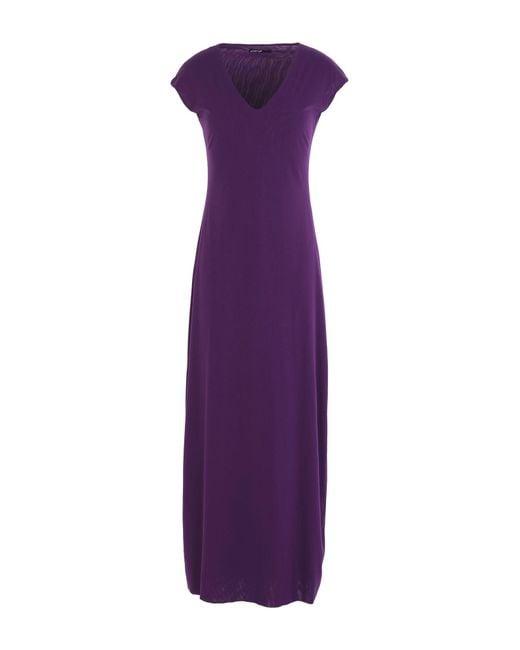 Almeria - Purple Long Dress - Lyst