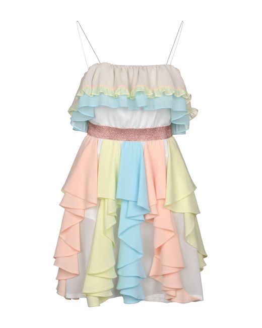 Manoush - Multicolor Short Dress - Lyst