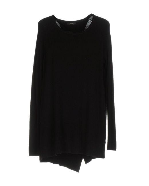 Hanita - Black Sweaters - Lyst