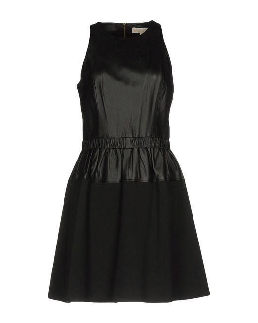 MICHAEL Michael Kors Robe courte femme de coloris noir PJmv2