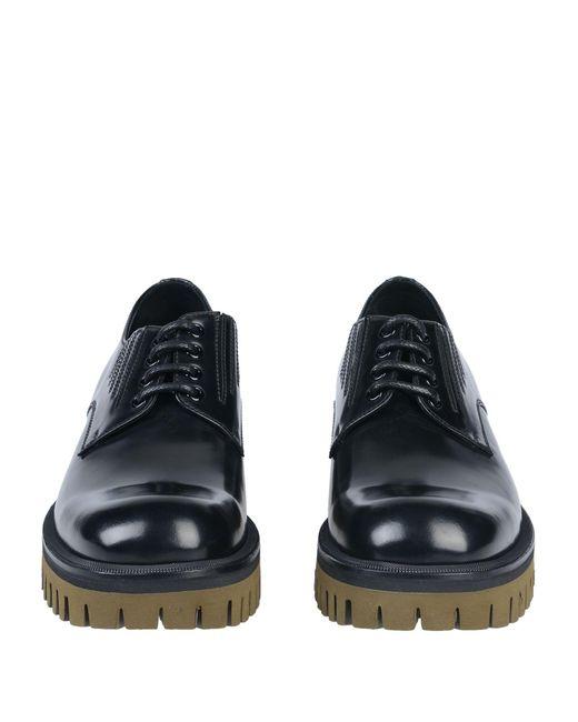 Dolce & Gabbana Schnürschuh in Black für Herren