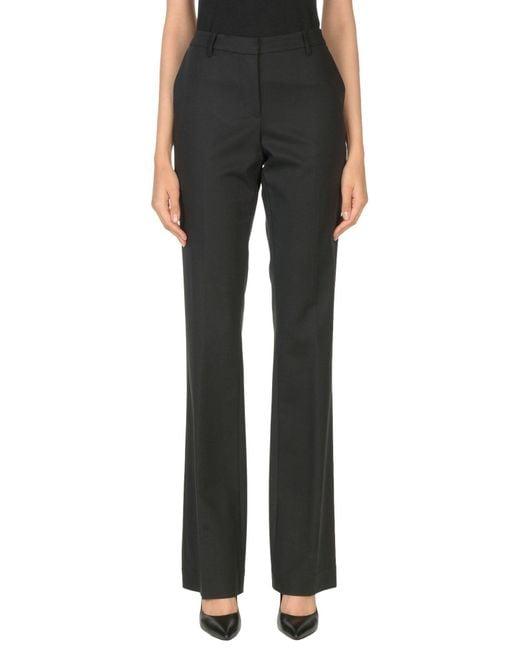 Armani Jeans - Black Casual Trouser - Lyst