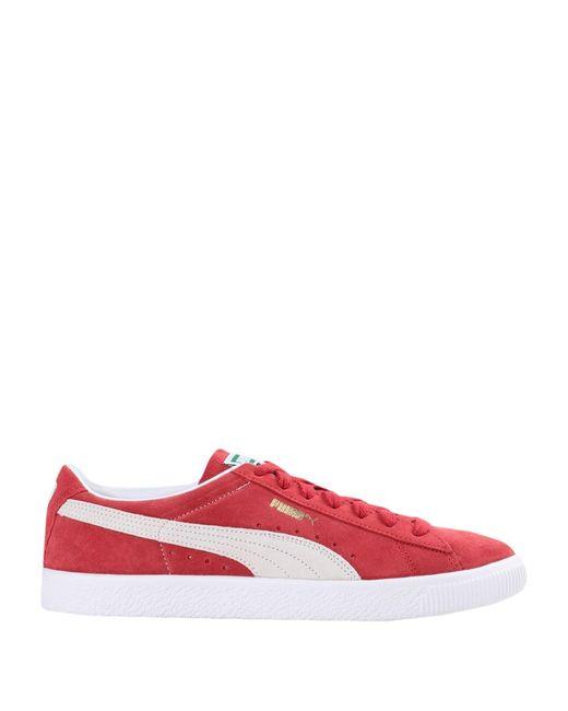 Sneakers Daim PUMA pour homme en coloris Rouge - Lyst